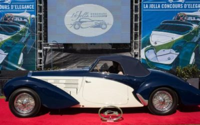 La Jolla Concours d'Elegance to be Held Sept 19 and 20