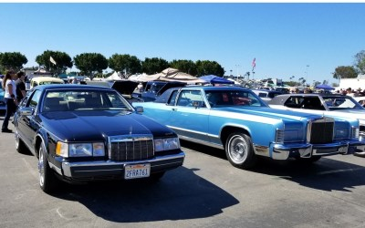 LCOC Joins with Mark VIII Addicts to Shine at Classic Auto Show