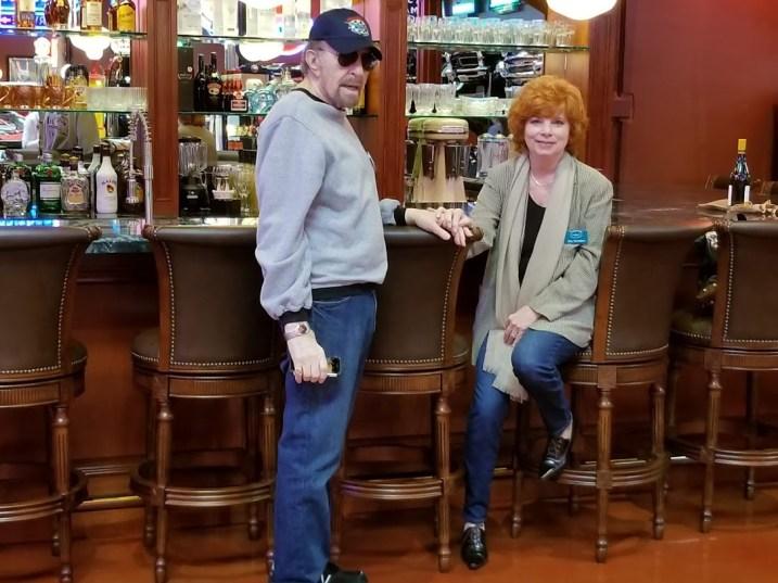 Hank and Rita Weinblatt at the Suds Bar