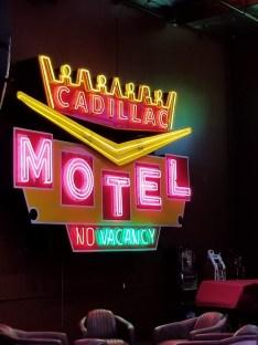 Cadillac Hotel Sign
