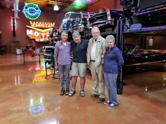 Jim Ayres, Arv Larson, Jim and Carol HIggs