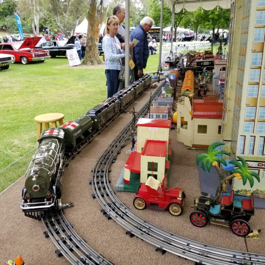 Spectacular model railroad display delighted visitors