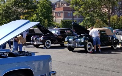 LCOC Show Cars Celebrate Continental Nameplate's 80th Anniversary at LCOC's Eastern National Meet (Part I)