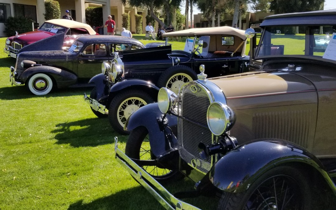 Car Show and Annual Meeting at Desert Princess Previewed 2021 LCOC Western National Meet