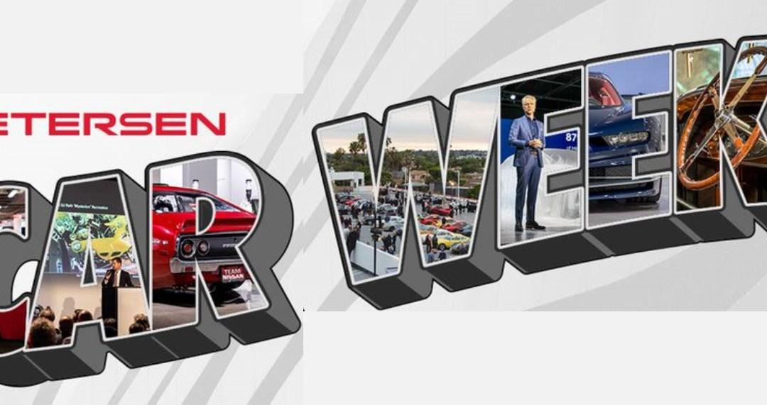 "Petersen Automotive Museum Sponsors Free Virtual ""Car Week"""