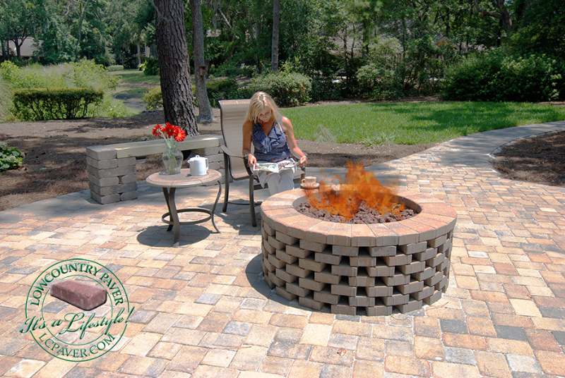 DIY Firepits  Lowcountry Paver