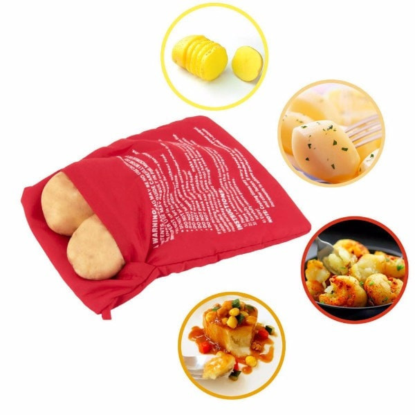 potato express microwave potato bag