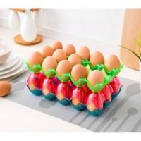 Egg Storage Tray Egg Holder For Fridge Egg Storage Cartons