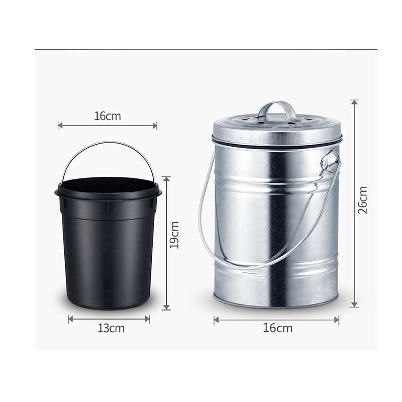 3Liter Kitchen Compost Bin  Life Changing Products