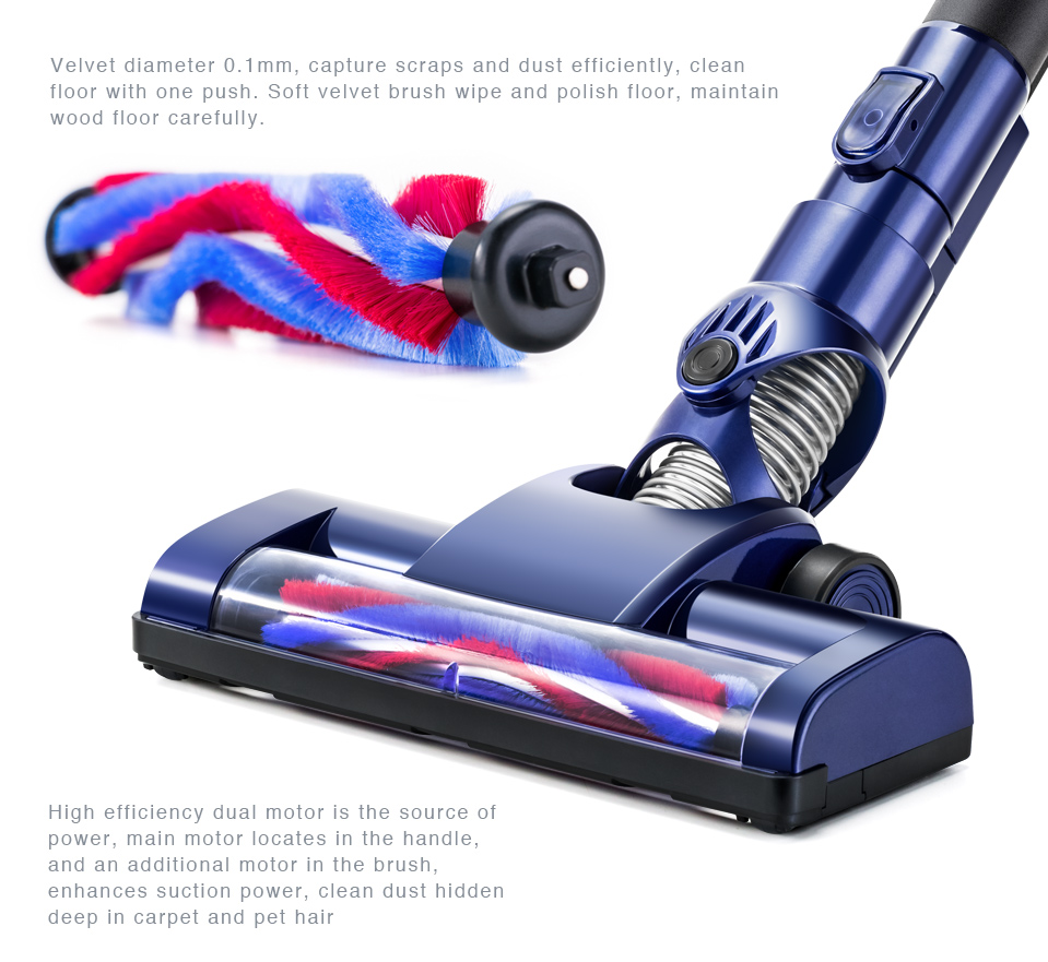 Portable Battery Powered Vacuum Cleaner