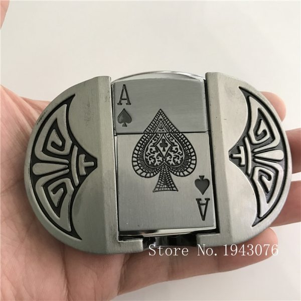 Belt Buckles Card Gas Lighter - Life Changing Products