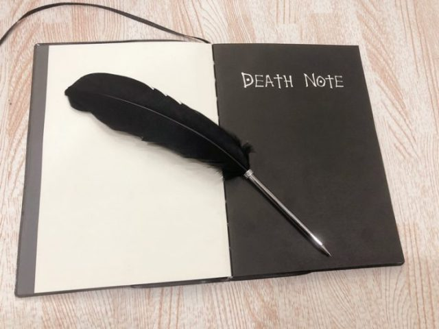 Death Note Notebook Anime Journal - Life Changing Products
