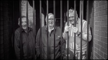 Judges behind bars!