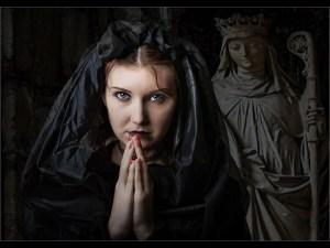 The Penitent - by Noel Morgan