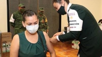 Vacunación maestros chihuahua