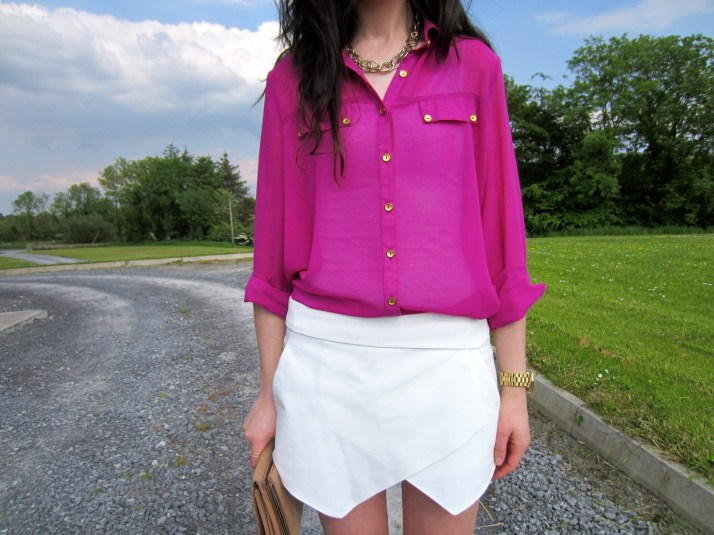Irish Fashion Zara Skort 14