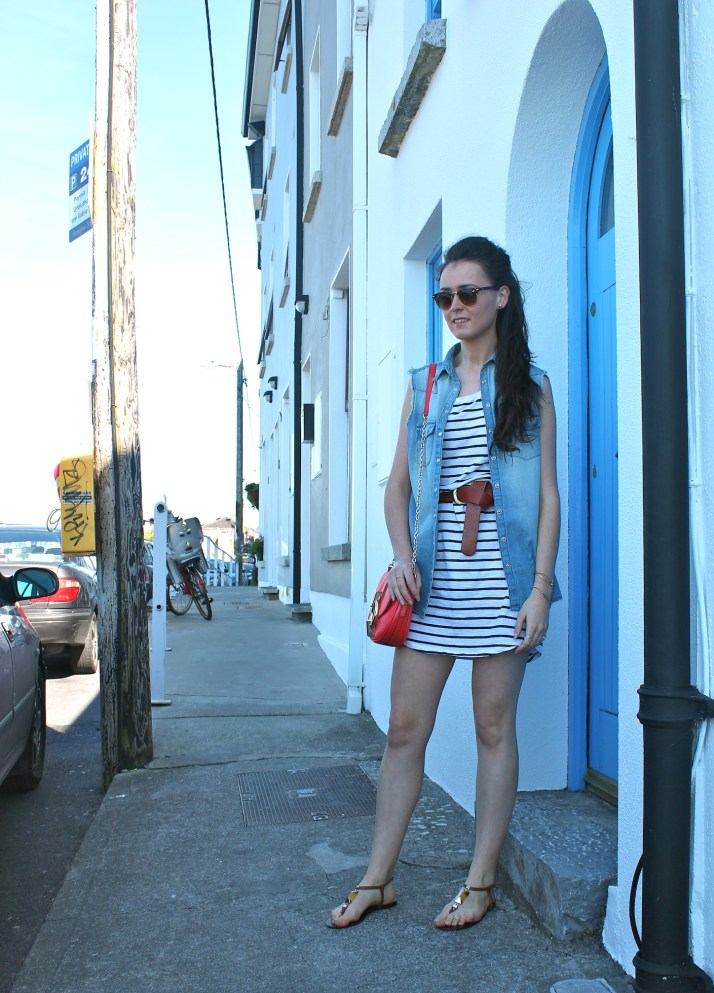 Irish Fashion Denim and Stripes 1