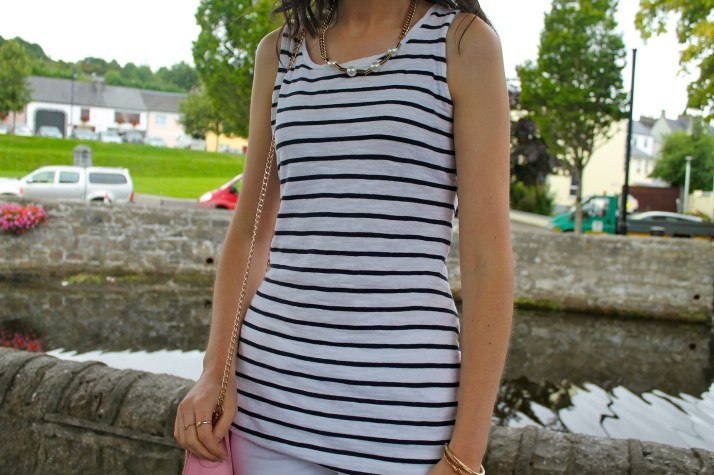 Irish Fashion Pink Stripes 6