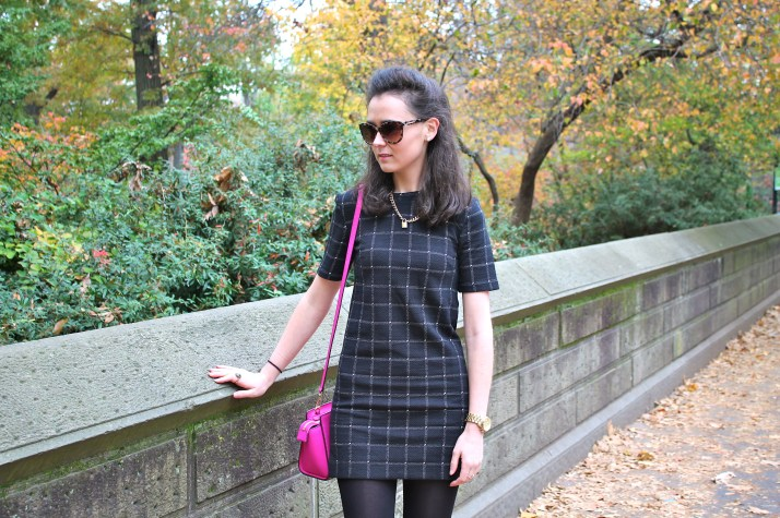 New York Fashion Check Dress 14