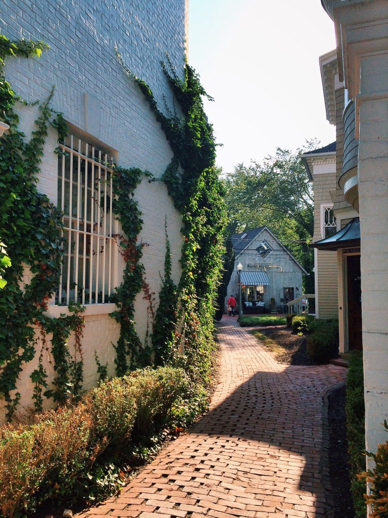 weekend in the hamptons: southampton alley way
