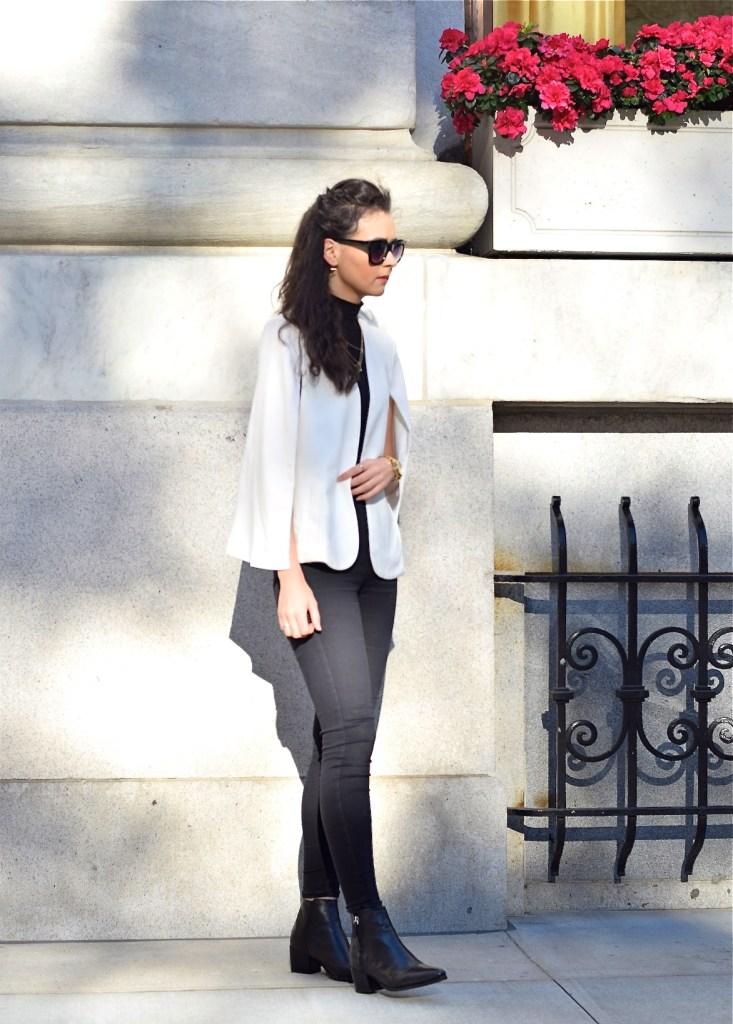 irish fashion: white cape 7