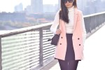 Pink Sleeveless Blazer 11