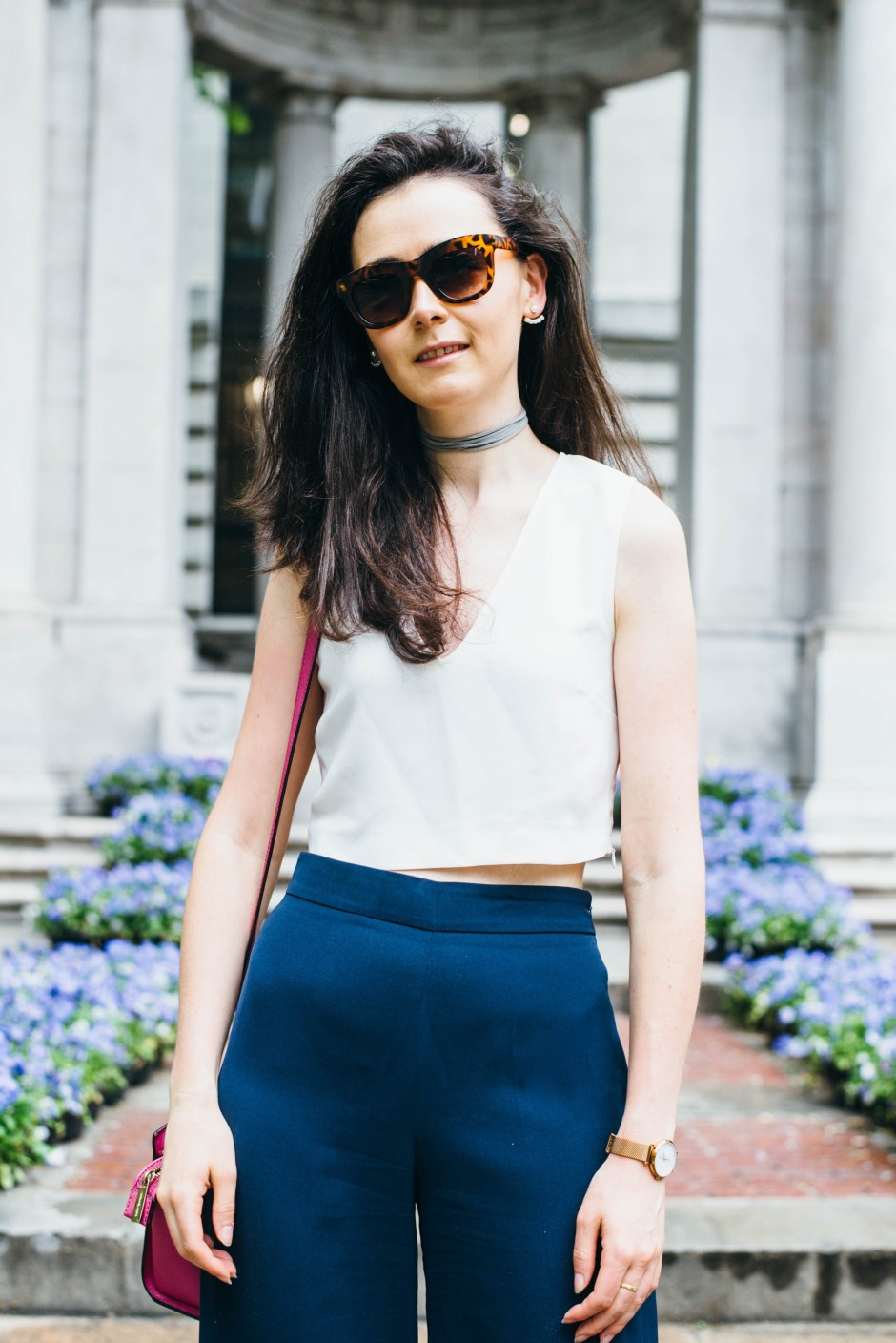 how to wear culottes in summer 9
