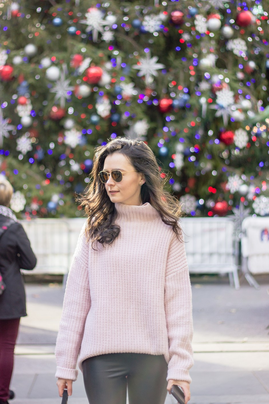 NYC Blogger: baby pink sweater 8