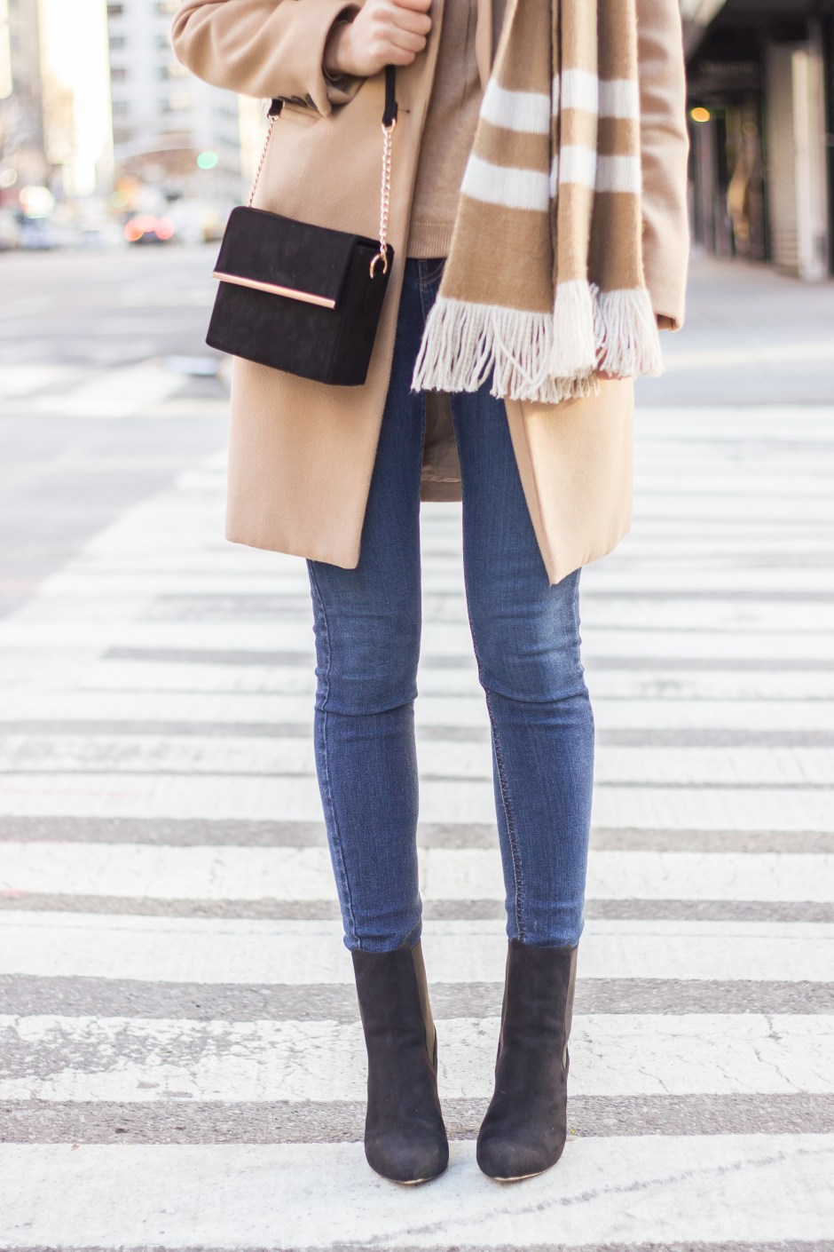 NYC Blogger: Setting goals and wearing camel with camel 4