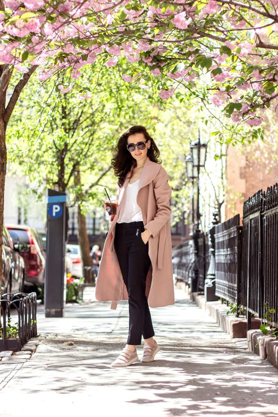 NYC Blogger: Blush Pink Coat