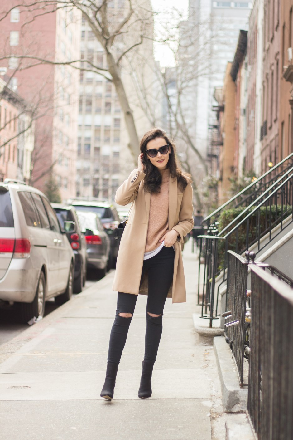 NYC Blogger: Double Camel Outfit