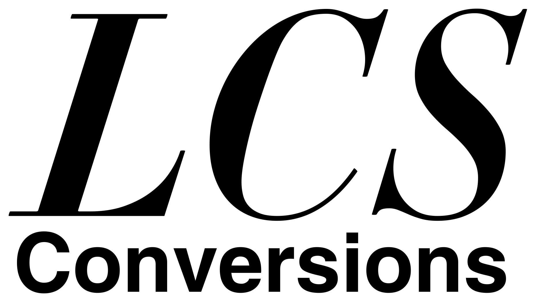 LCS Conversions