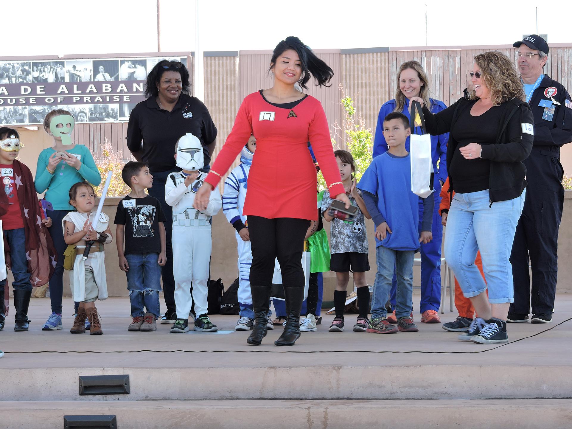 Las Cruces Space Festival 'Space Walk'