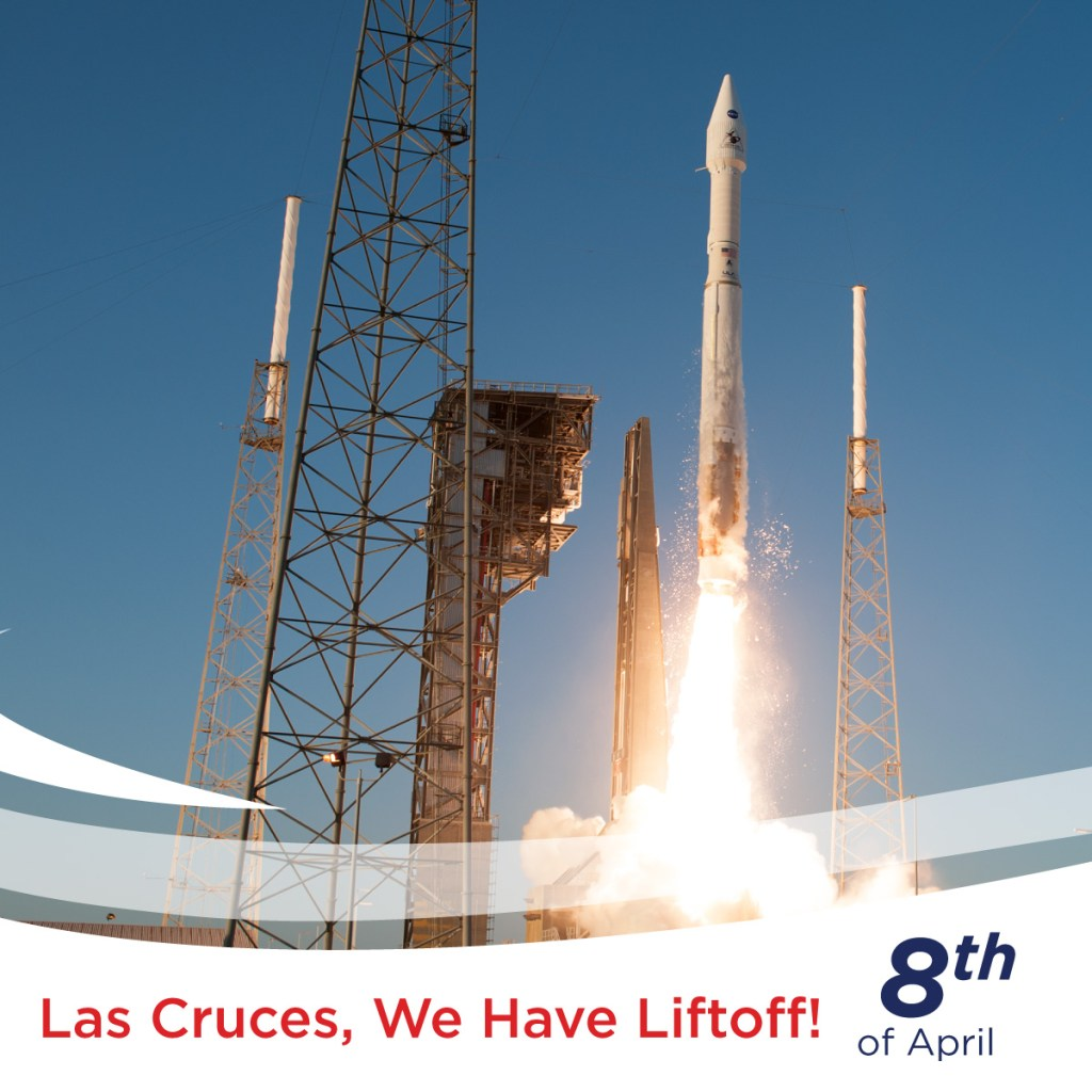 Las Cruces, We Have Lift Off!