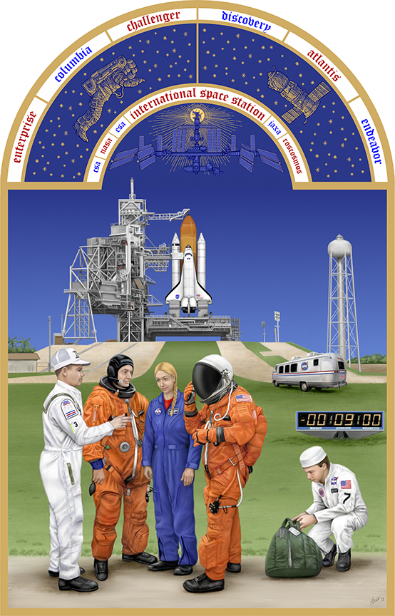 The Astronaut's Book of Hours Series- The Space Shuttle