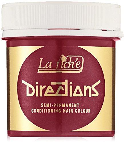 La Riche Directions Colore semi-permanente per capelli, Rosso (Poppy Red), 89 ml