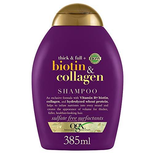 OGX Shampoo, Biotin & Collagen, 385 ml