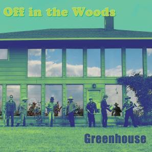 Off in the woods green