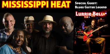 Mississippi Heat with logo
