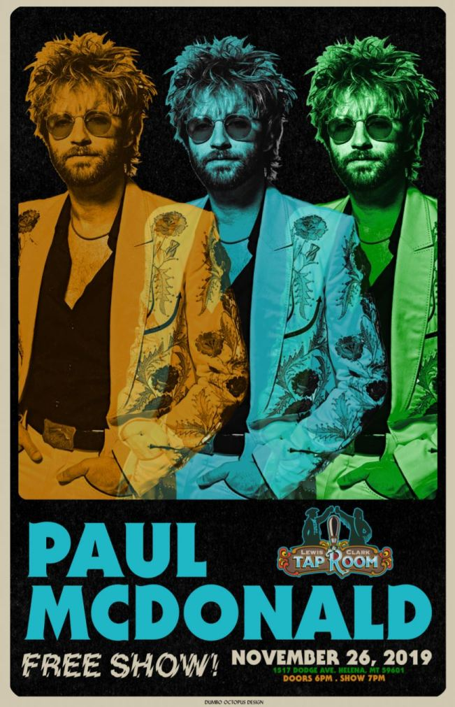 Paul McDonald full poster