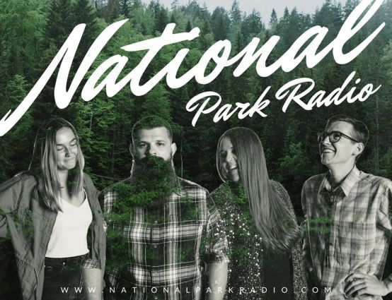 National Park Radio over trees