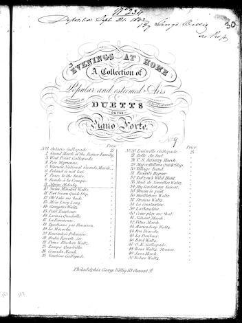 Alpine melody [sheet music]:Print Material Description