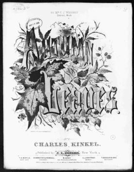 Autumn leaves / [sheet music]:Print Material Description