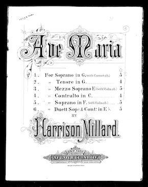 Ave Maria [mezzo-soprano] / [sheet music]:Print Material