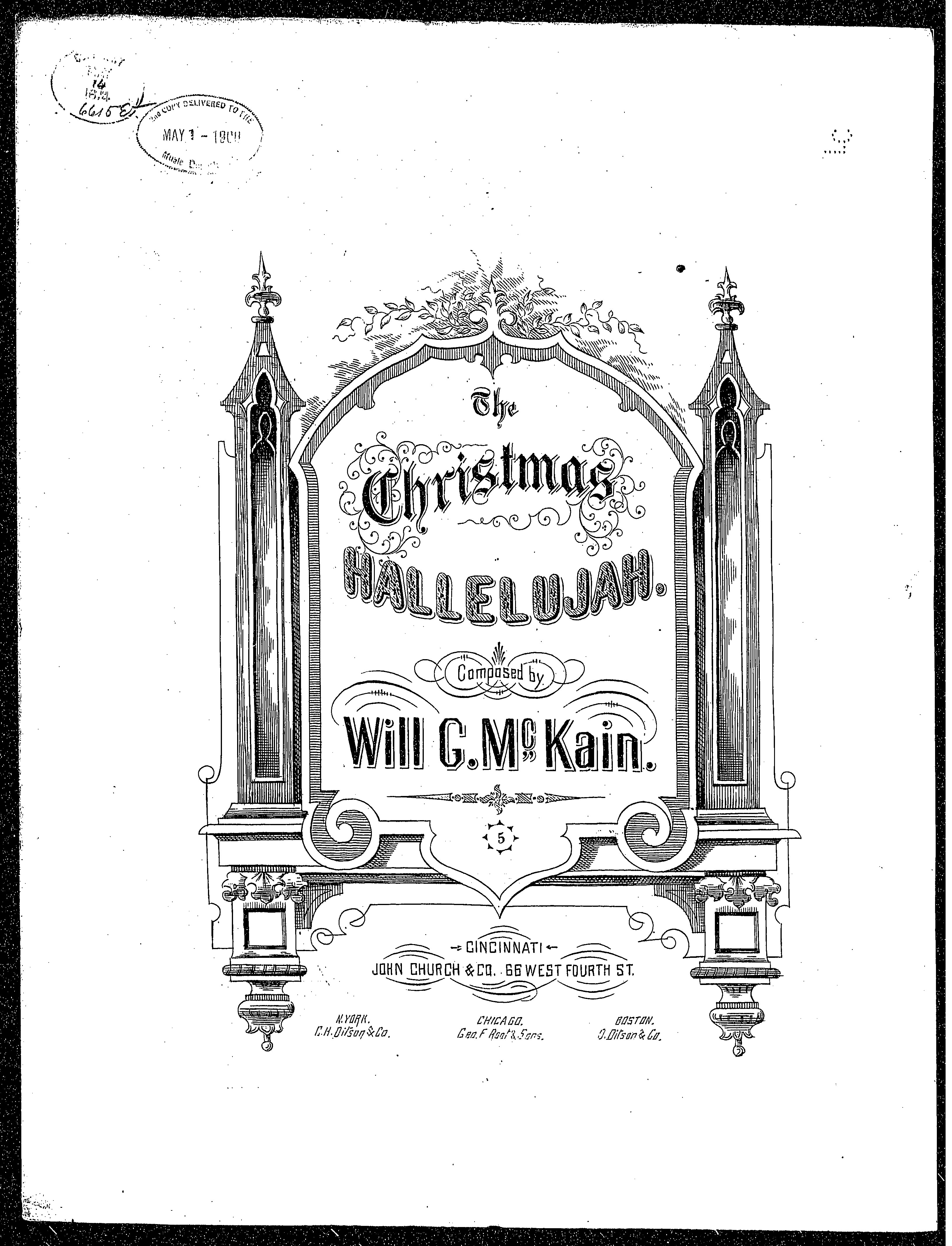 The Christmas Hallelujah / [sheet music]:Print Material