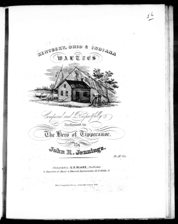 Kentucky waltz / [sheet music]:Print Material Description