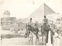 A1949 photograph of Katherine Dunham, Doris Duke, and Porfirico Rubirosa in Egypt