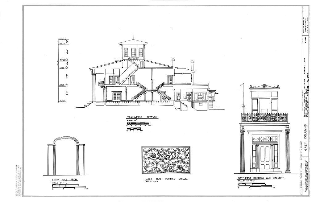 1000+ images about Grey Columns- Varner House on Pinterest
