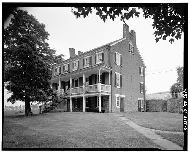 Abraham Overholt Residence