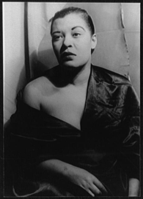 Billie Holiday Portrait Of Billie Holiday